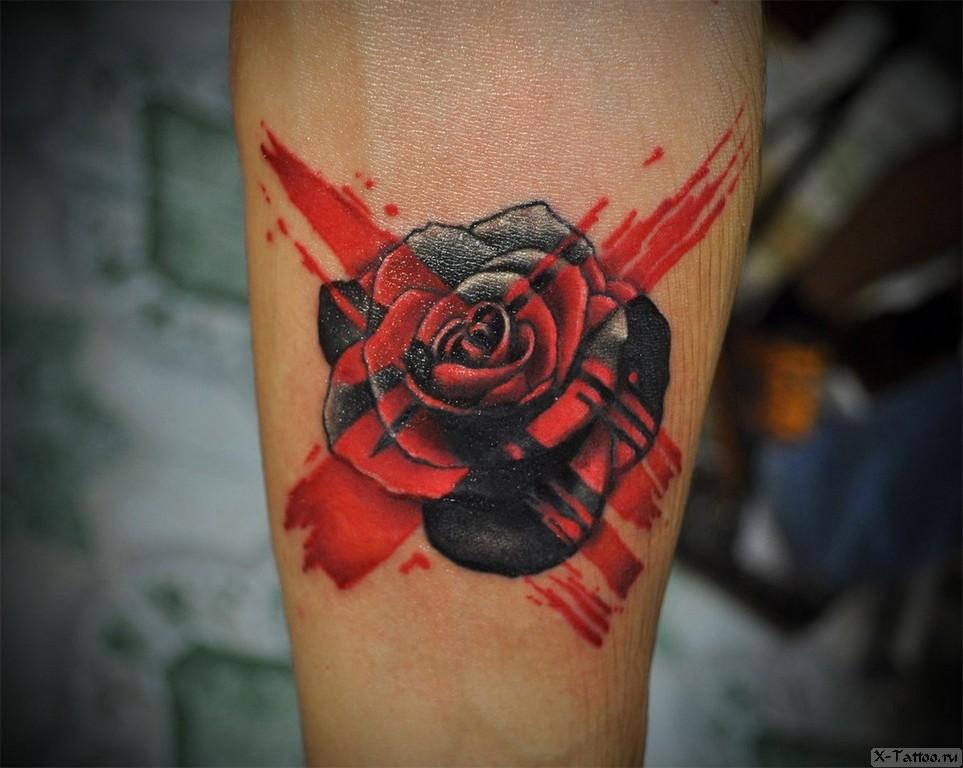 зачеркнутая роза