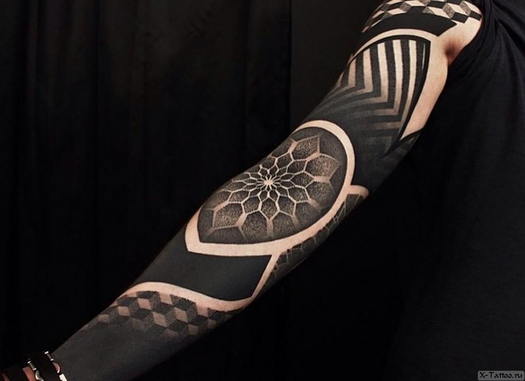 татуировка на всю руку