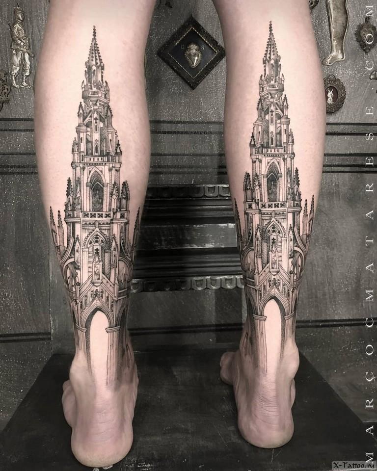 2 замка на ногах