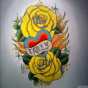 zheltye rozy