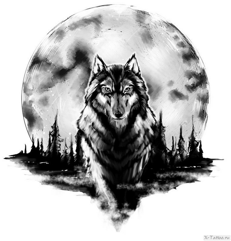 derevya i luna