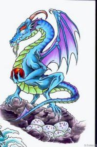 drakoni yaytsa