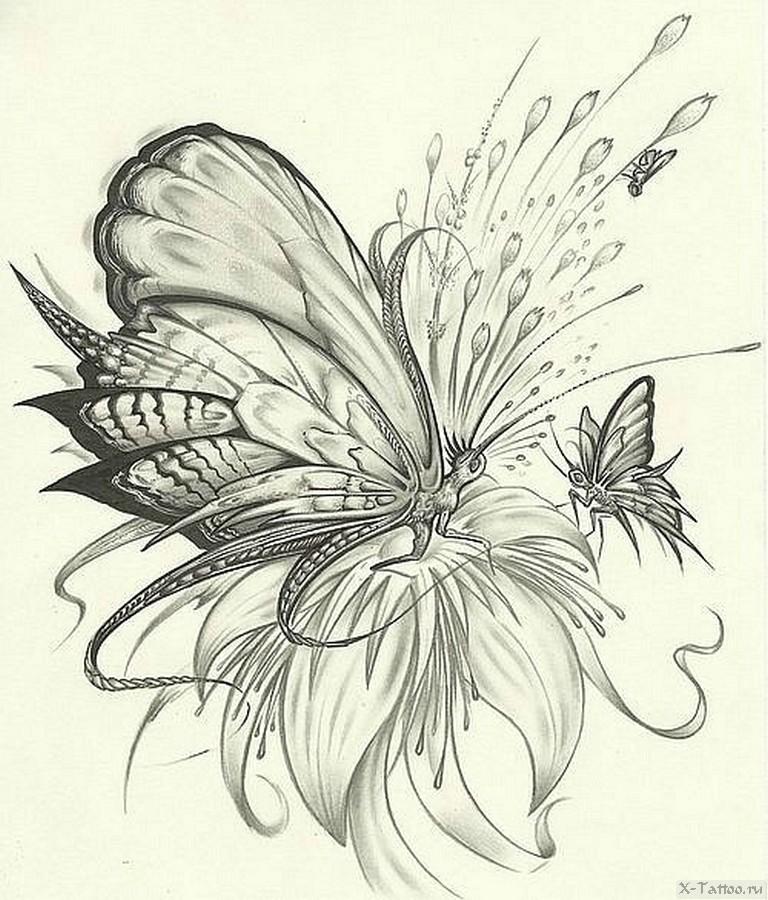 цветы фэнтези карандашом картинки пришлось мыть