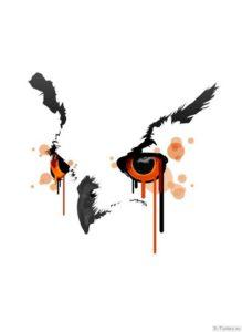 sova v stile akvarel