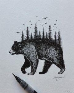 spina medvedya