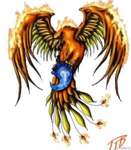 tatuirovka s ognem