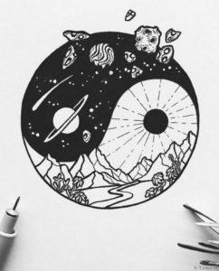kosmos i zemlya