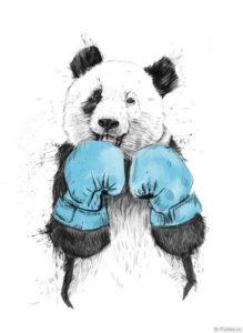 bokserskie perchatki