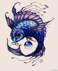 fioletovaya ryba