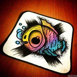 ryba popugay