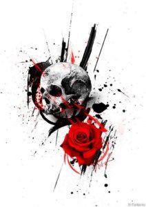 cherep i roza