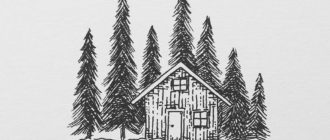 eskizy tatu dom