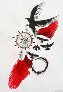 kompas i ptitsy