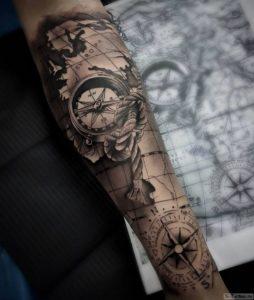 karta i kompas