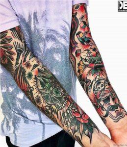 oldskulnye tatuirovki
