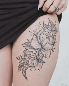 tatuirovka s pionami